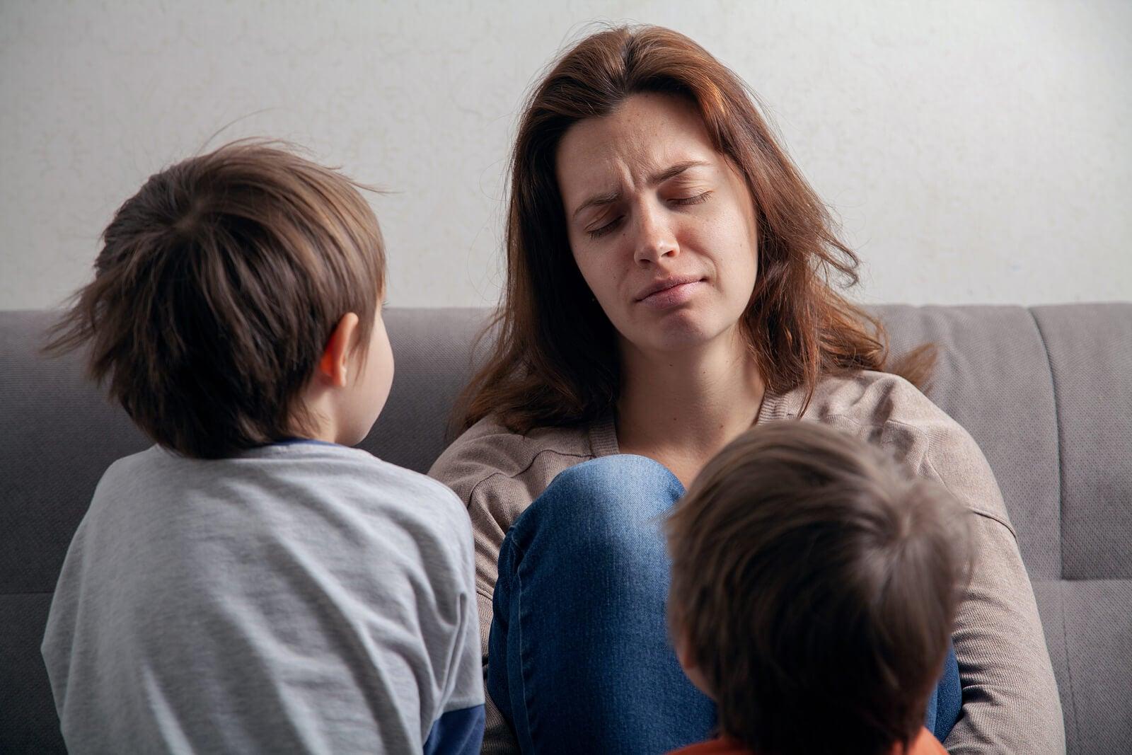 Aprender a delegar para disfrutar la maternidad