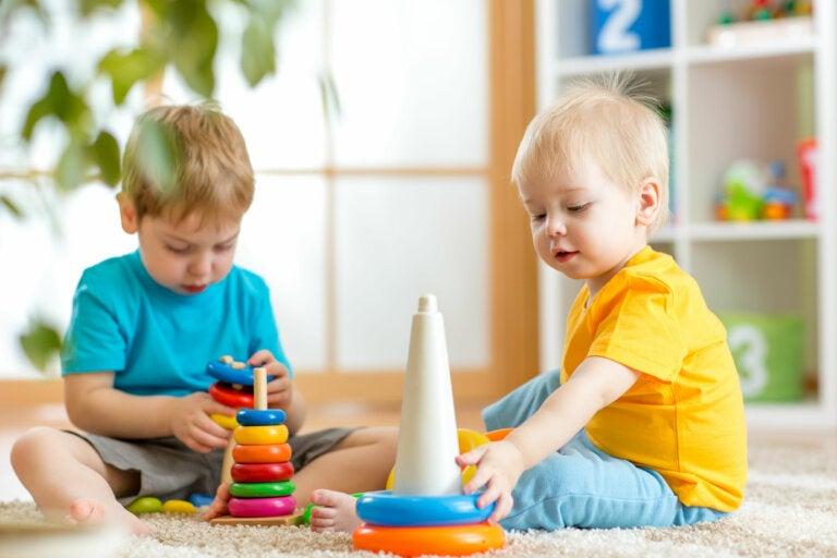 La técnica de rotar los juguetes