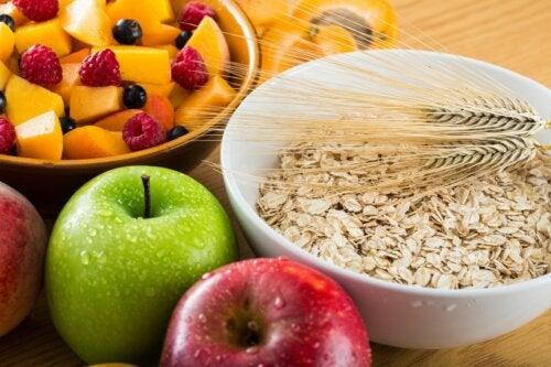 La fibra en la alimentación de los niños