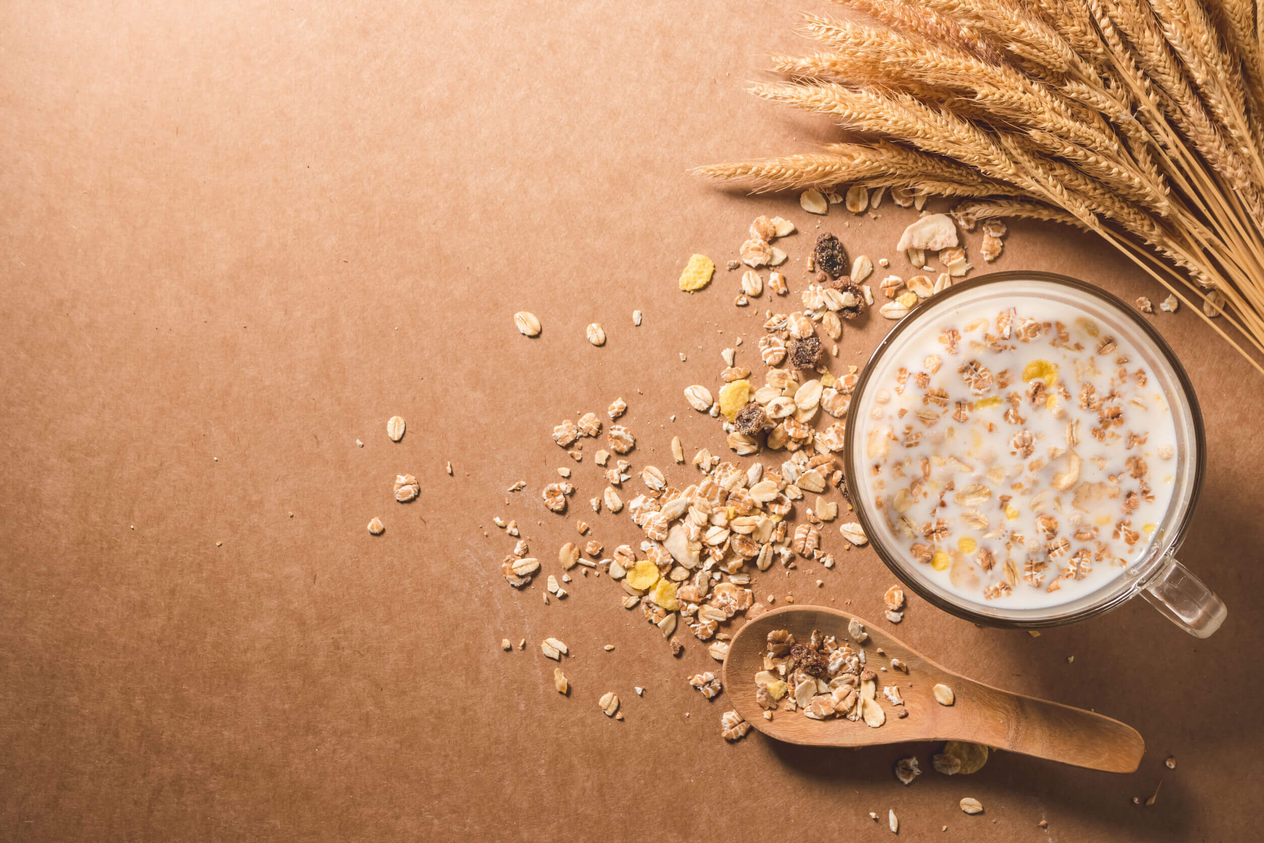 Cereales con fibra.