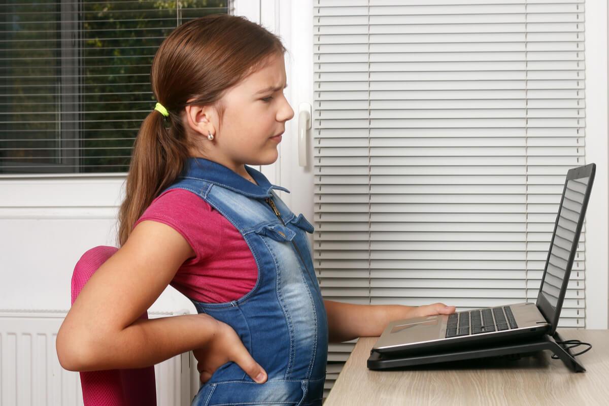Lumbalgia en niños y adolescentes.