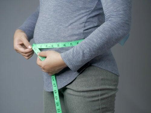 Aumento de peso en el embarazo