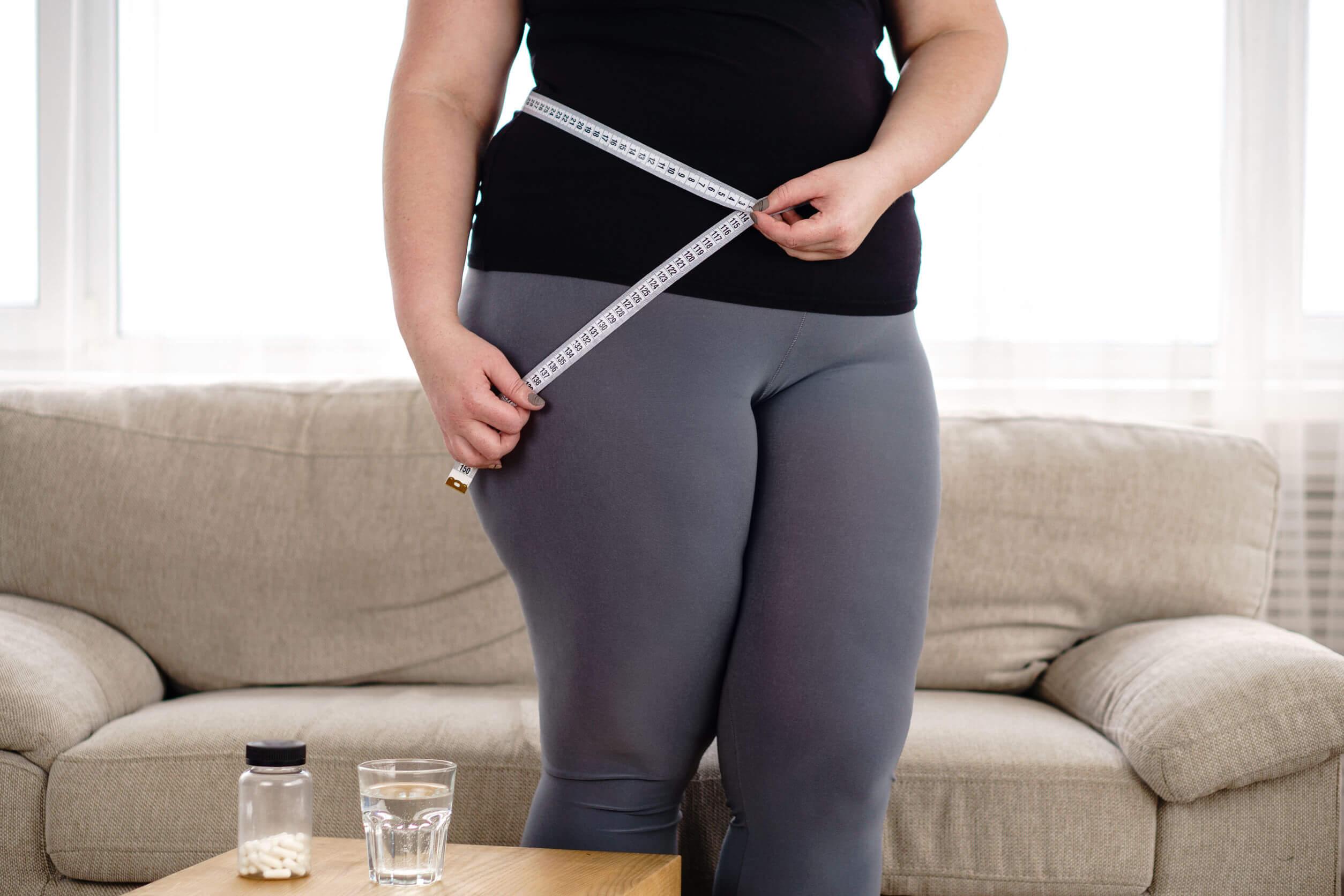 El aumento de peso es común.