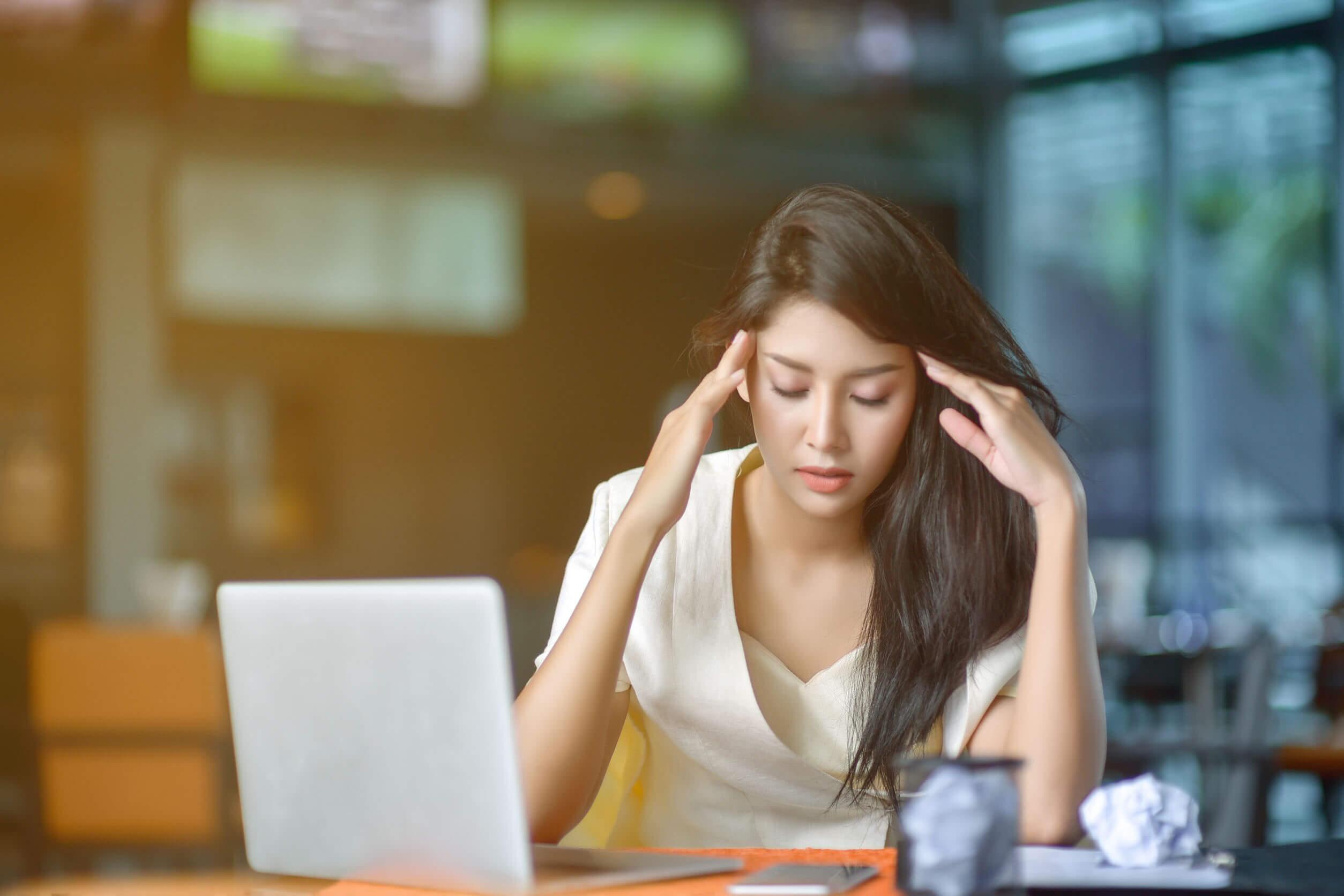 El estrés puede influir sobre el hecho de quedarse embarazada durante la menstruación.