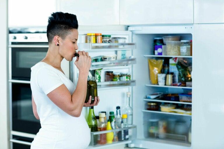 Los antojos más frecuentes durante el embarazo