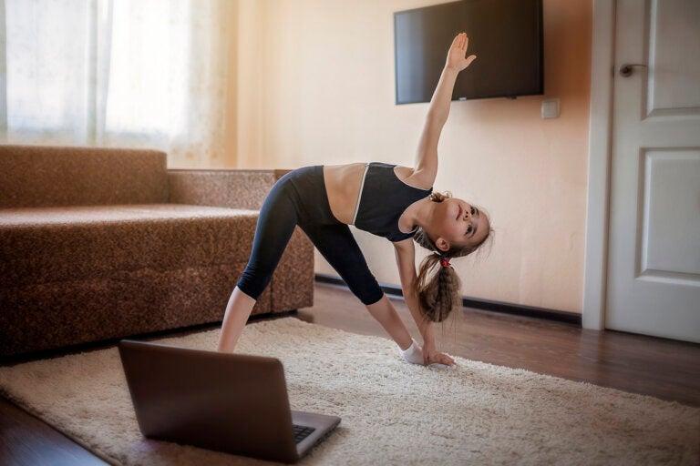 Apps para que los niños hagan ejercicio en casa