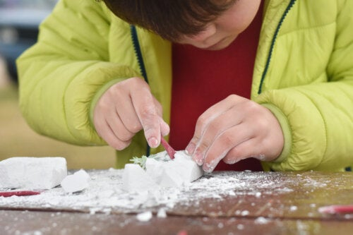 Cómo hacer fósiles caseros