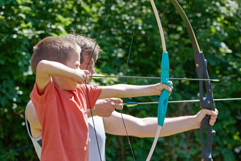 Tiro con arco para niños, un deporte con muchos beneficios