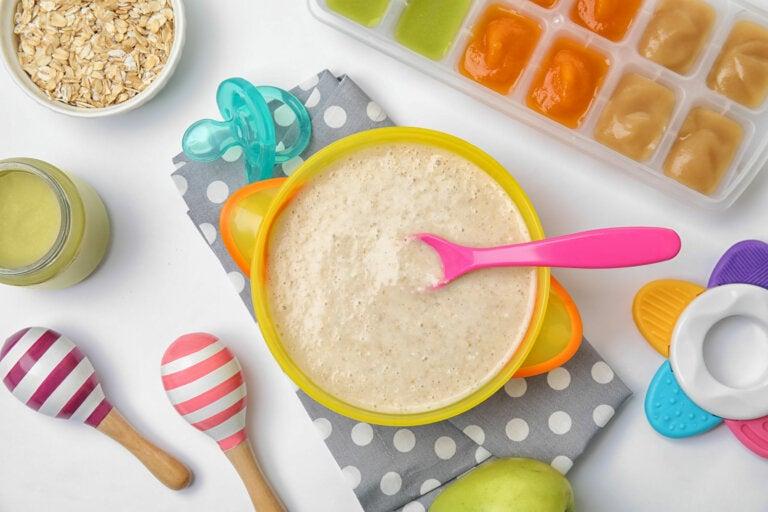 Cómo hacer papillas de cereales caseras