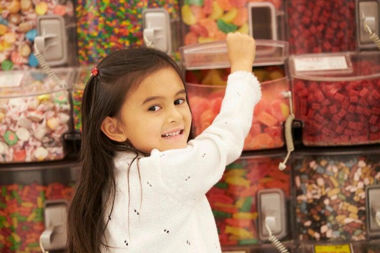 El consumo de golosinas en la alimentación infantil