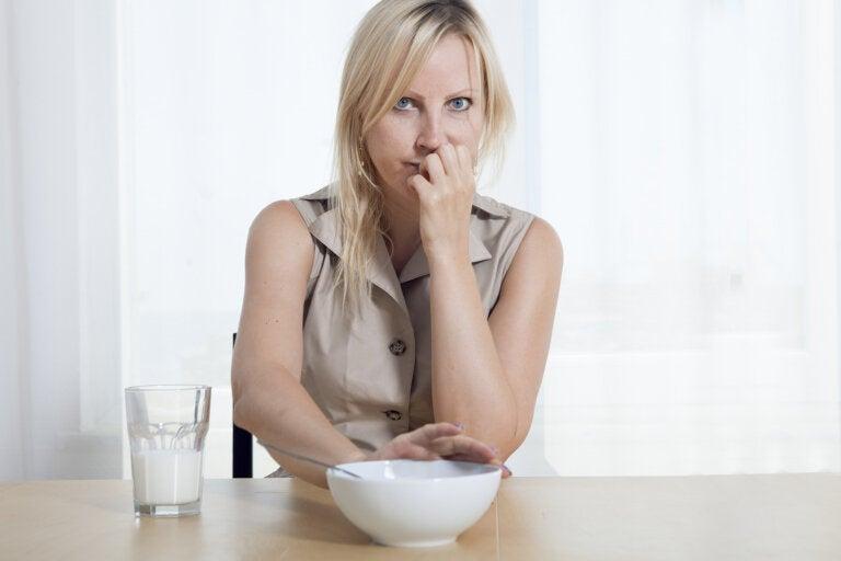 La pérdida de apetito durante el embarazo