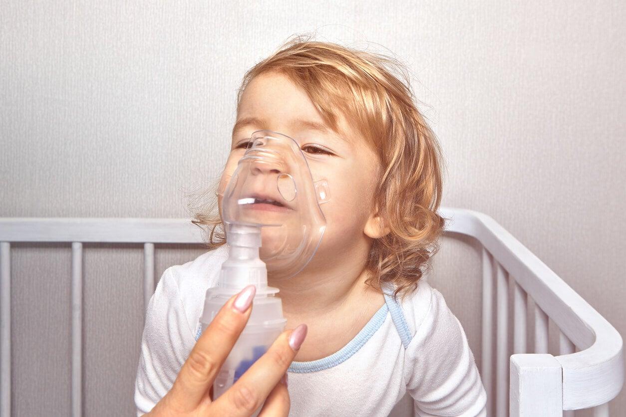 kinésithérapie respiratoire pour bébés.