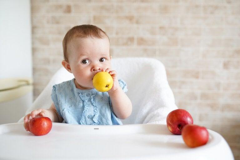 Alimentos para evitar el estreñimiento del bebé
