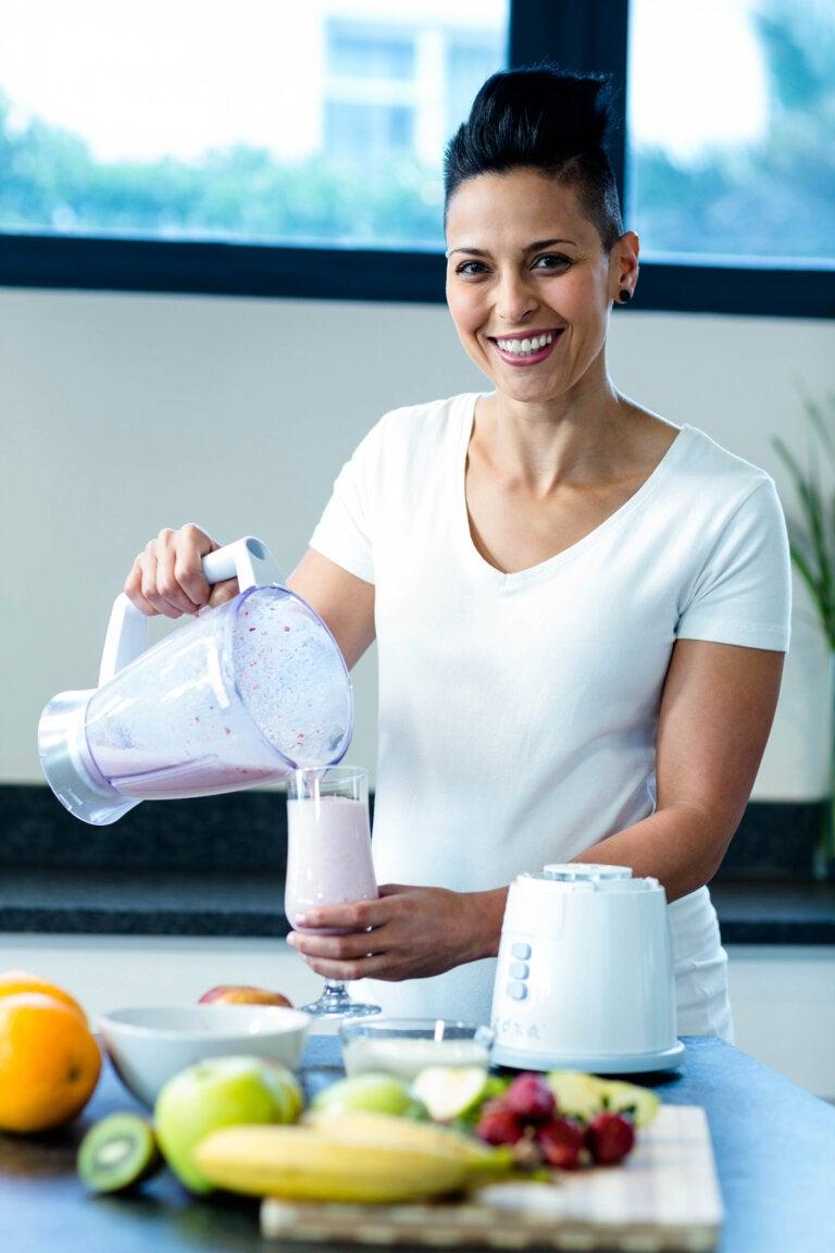 Los batidos de proteínas durante el embarazo, ¿son seguros?