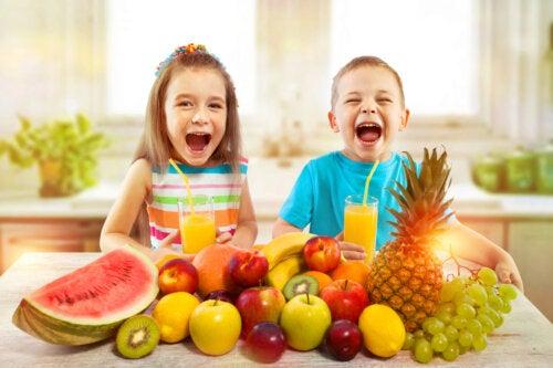 4 cosas que no sabías sobre las vitaminas en la nutrición infantil