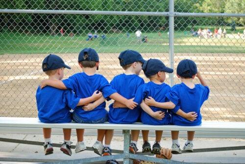El deporte mejora las habilidades sociales en niños