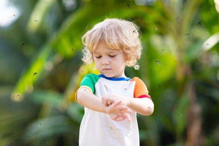 ¿Qué es el prurigo simple infantil?