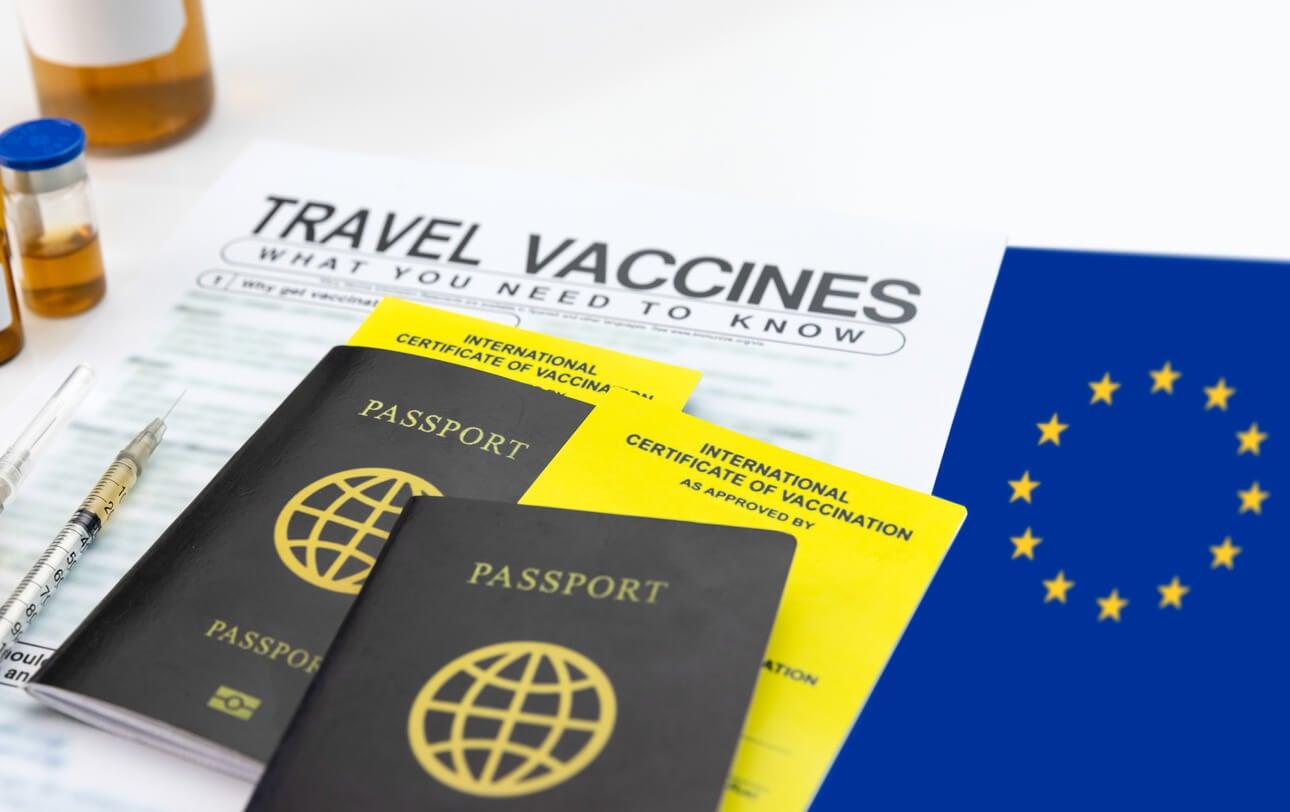 passaporto documento sanitario pandemia covid 19 prova dell'unione europea