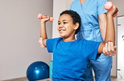 5 beneficios de la fisioterapia infantil