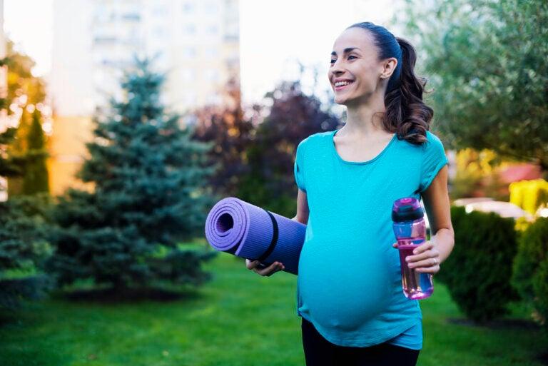 El ejercicio en el embarazo mejora también la salud del bebé