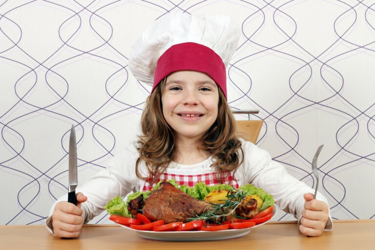 La importancia de la carne en la alimentación infantil