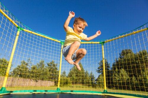 Deportes para niños nerviosos