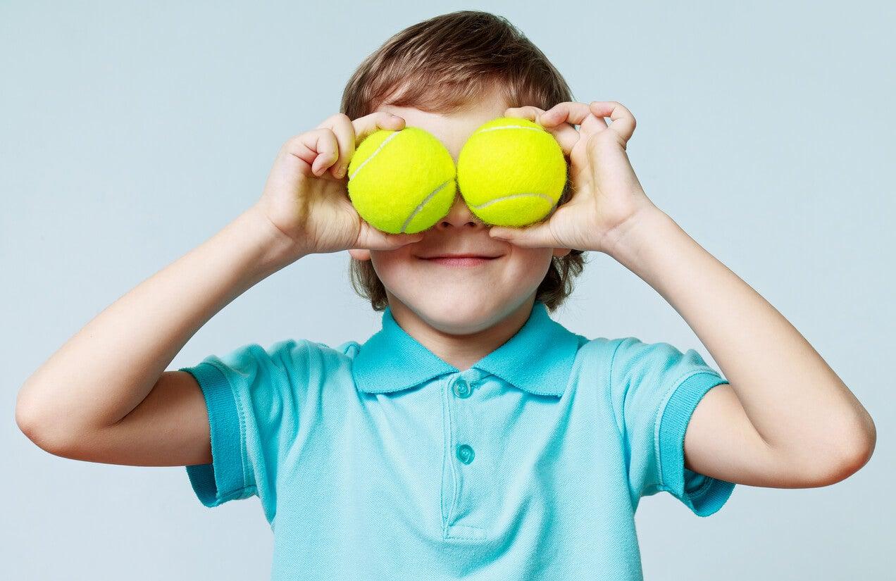4 juegos de pelotas para niños