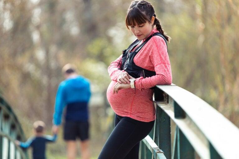 Ropa deportiva para embarazadas