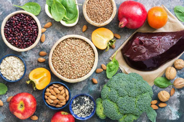 7 alimentos para combatir la anemia infantil