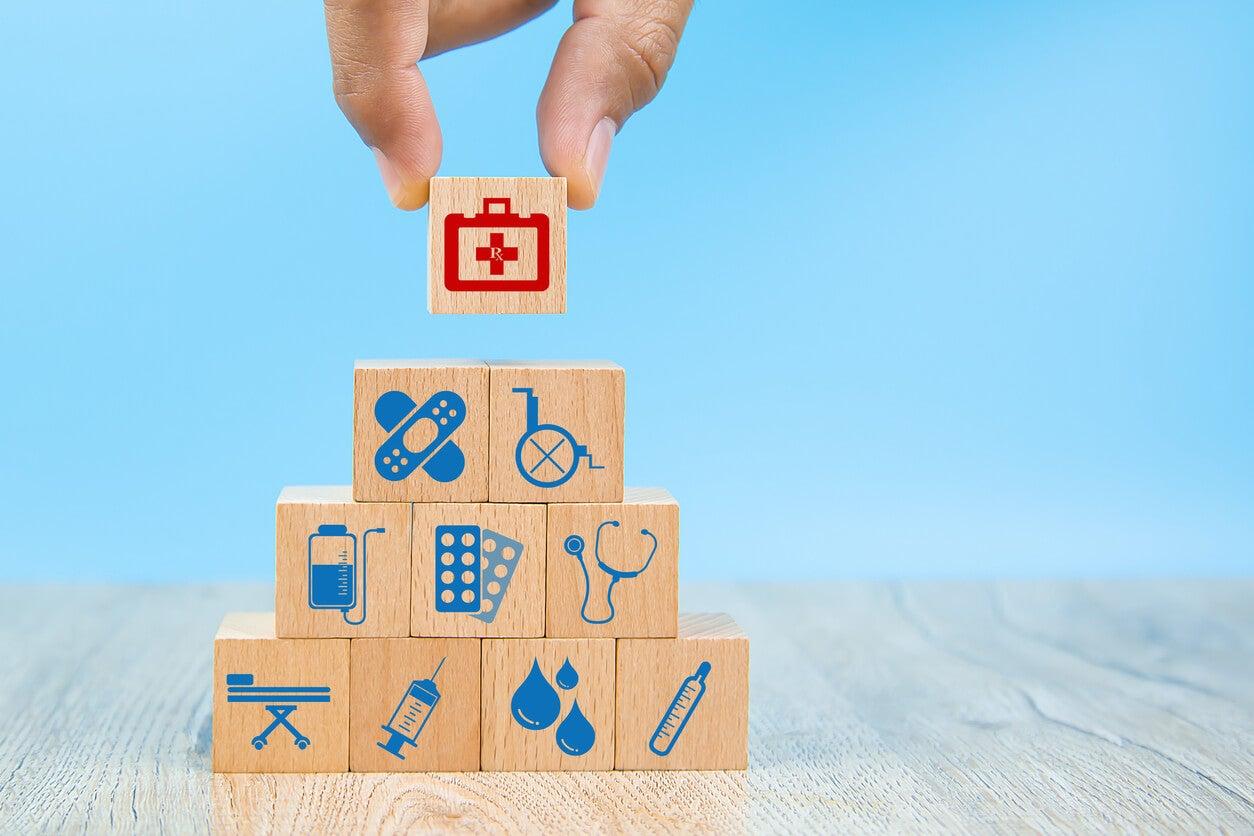 concetto di assicurazione sanitaria famiglia di assicurazione sanitaria