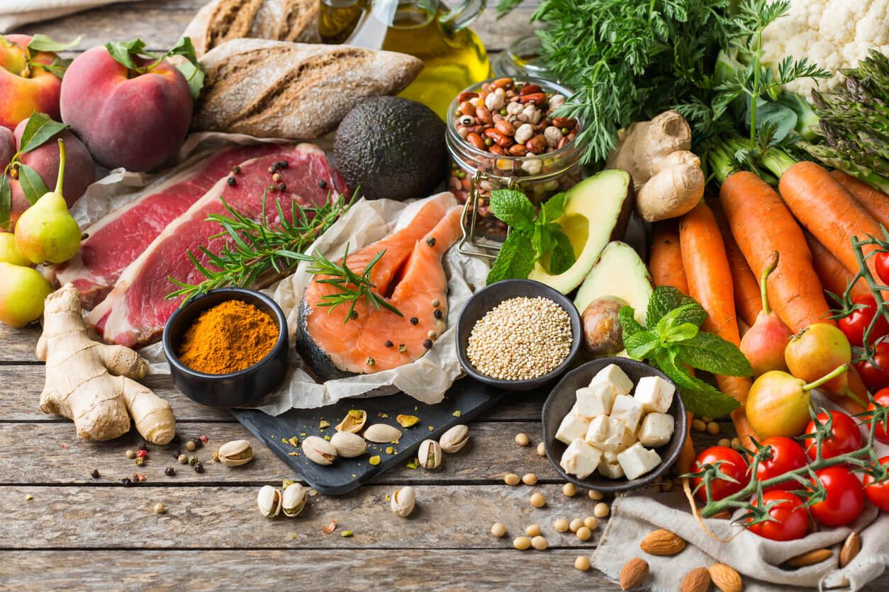 pauta dietaria completa mediterranea omnivora balanceado adecuado nutricion