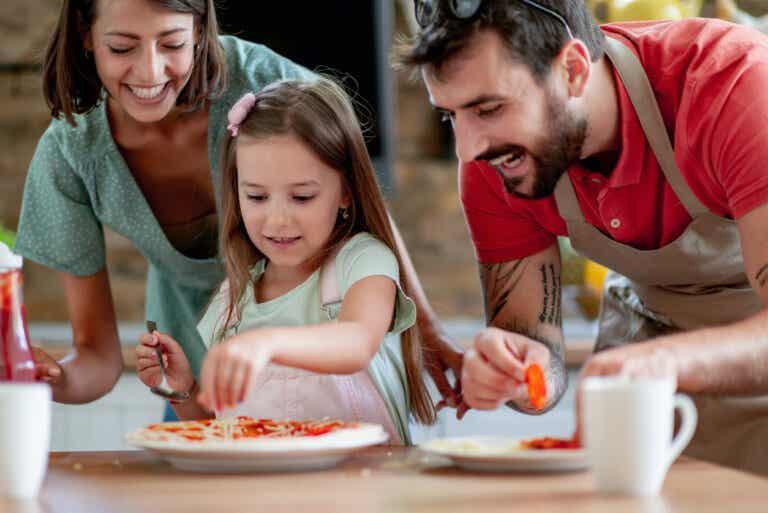 4 consejos para cocinar en familia