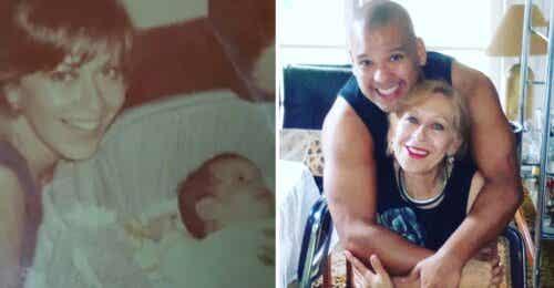 Acogió a bebé abandonado al frente de su casa hace 44 años