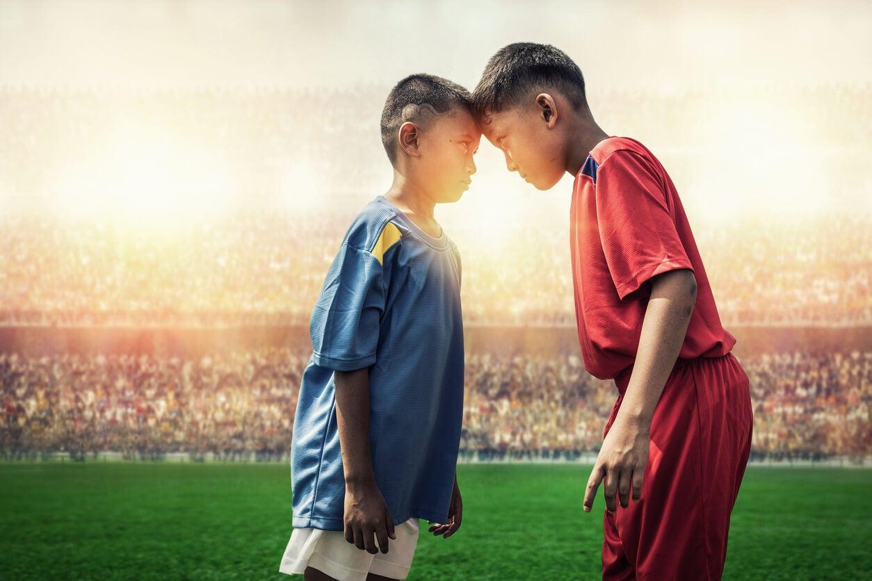rivalité entre enfants