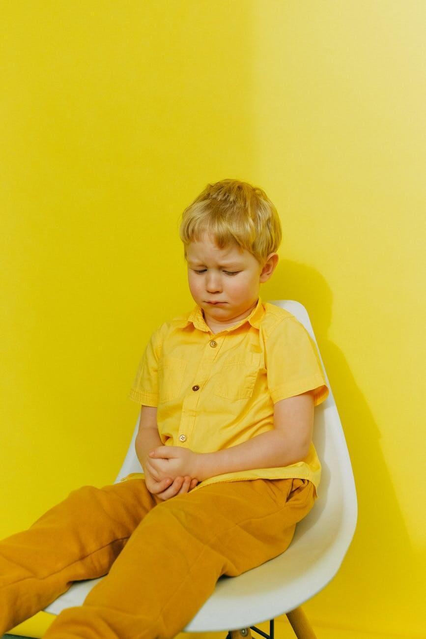 enfant puni