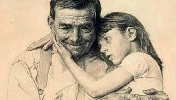 Nuestros padres no mueren, se vuelven invisibles y duermen en nuestro corazón
