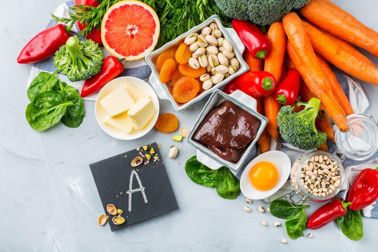 alimentos fuente de vitamina a
