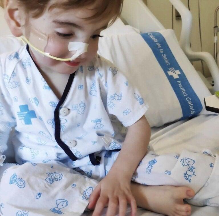 Niño recibe pulmones donados de un bebé en paro cardíaco