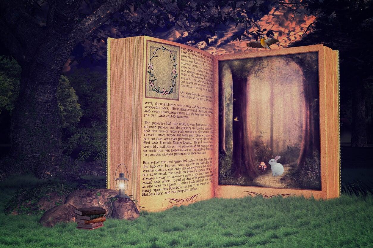 magia bosque animales cuento fantasia fabula