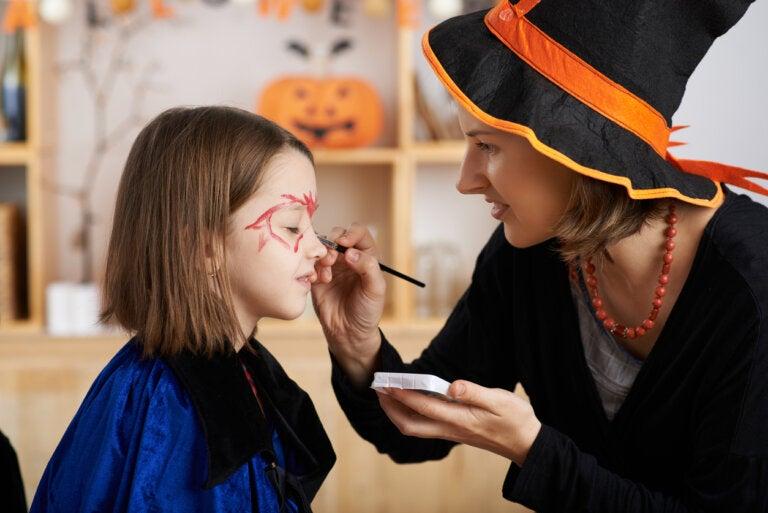 5 ideas de maquillaje Halloween para niños